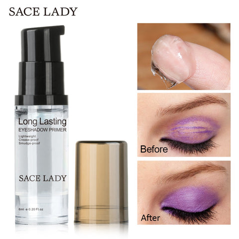 SACE LADY Eye Shadow Primer Make Up Base Natural Professional Cosmetic Eyeshadow Makeup Cream Long-lasting Palette Waterproof