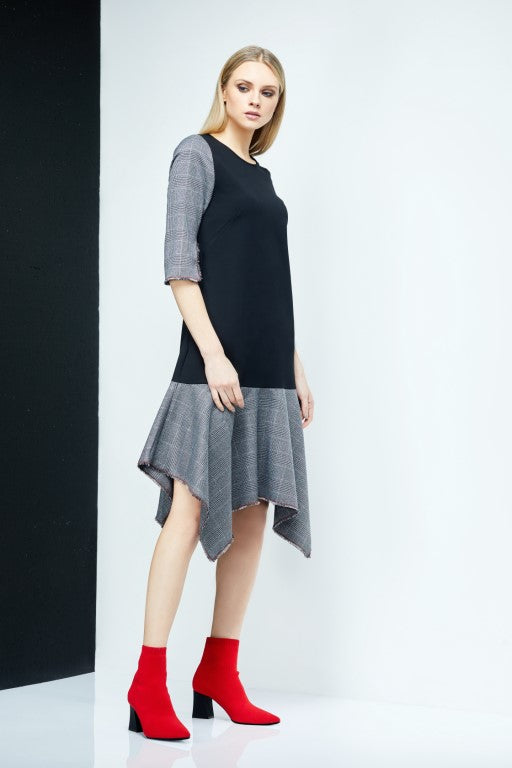 MARLENE Flare Hem Dress
