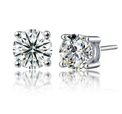 Monique Lhuillier Diamond Earrings
