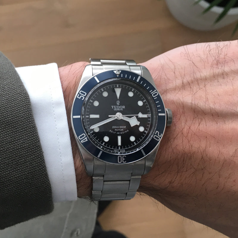 Tudor Black Bay (Blue) - Acquired Time