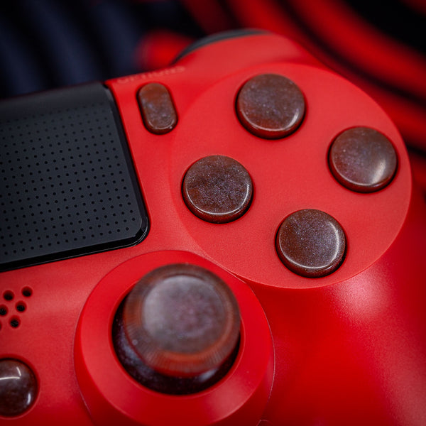 Playstation Dualshock 4: Ashen Red