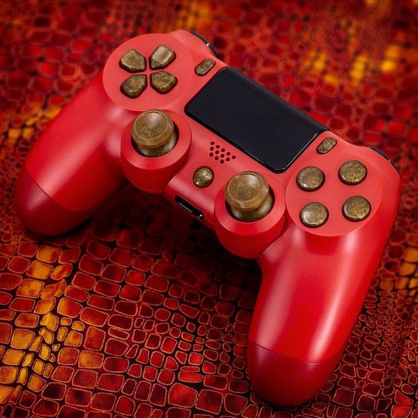 Playstation Dualshock 4: Molten Gold