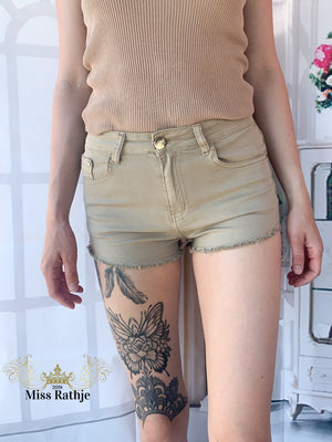 Mercy shorts -  Taupe Str.36-40