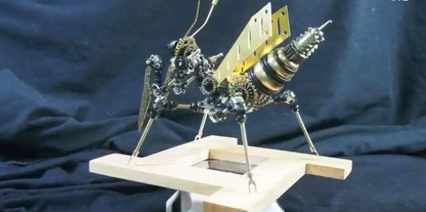 How to Build A 3D Metal Mantis Step by Step?-Moyustore