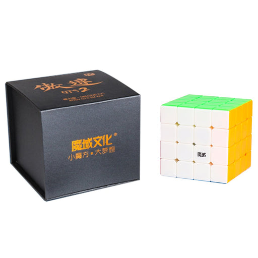 Yj8267 Moyu Aosu Gts2 M 4X4 Magic Cube - Magnetic Version Stickerless