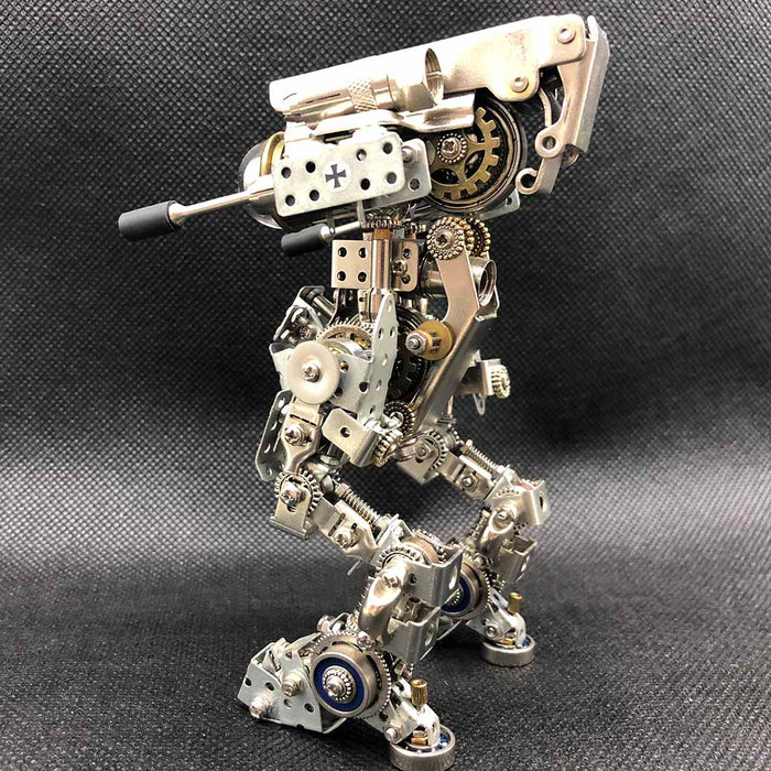 Adult DIY Metal Assembly 3D Robot Mecha Puzzle Toy Model for Home Decor
