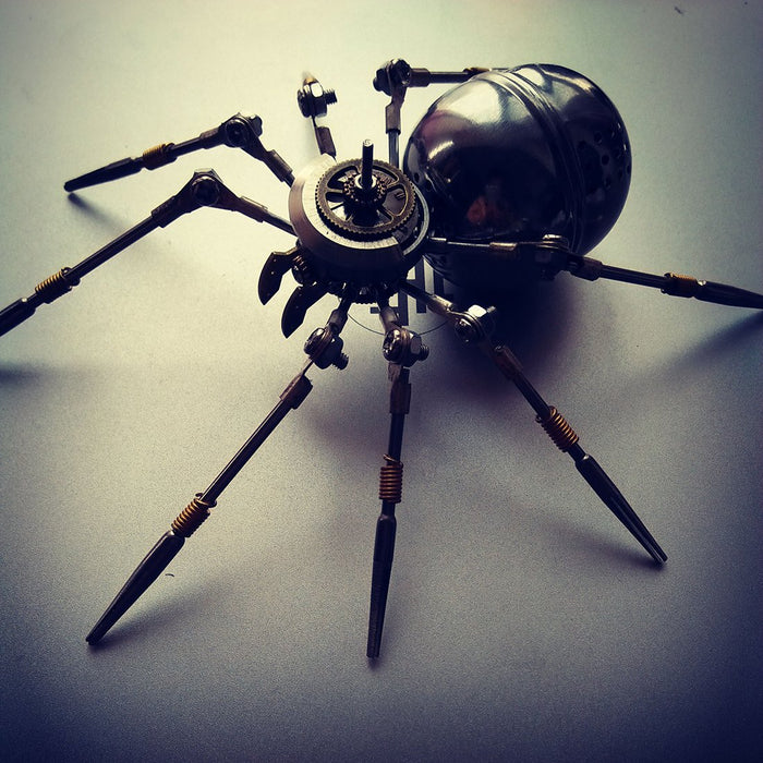 Assembly Metal Mechanical Steel 3.0 Spider Puzzle Kit