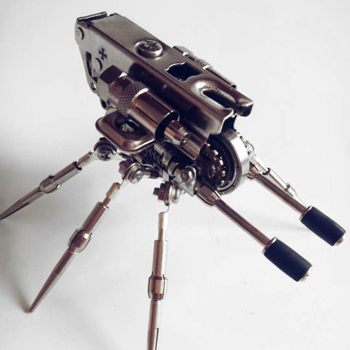 DIY Assembly Metal 3D Artillery Puzzle Model Toy Kit