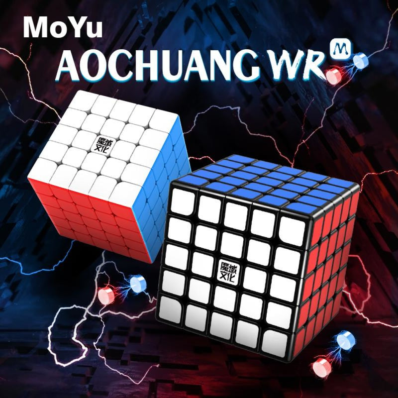 MoYu Aochuang WR M 5x5 Magic Cube WRM- Stickerles