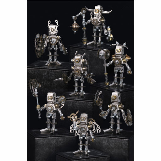 DIY Assembly 3D Metal Mechanical Saints Blind Box Puzzle Model Kit