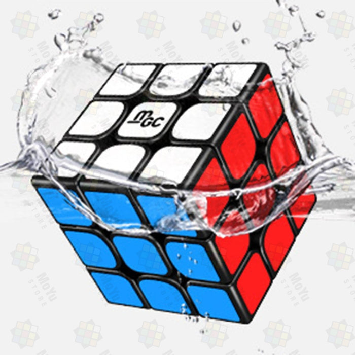 MoYu YJ 3X3X3 Magnetic Version MGC Magic Cube Speed Cube 3x3 Puzzle - Black