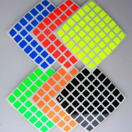 Z Colorful Stickers for MoYu AoFu 7x7x7 Magic Cube 78mm