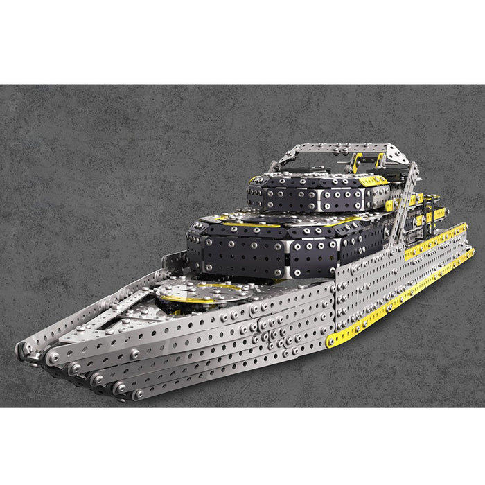 2451Pcs Assembly Screw 3D Mechanical Large Cruise Ship Metal Puzzle Model Kit Toy