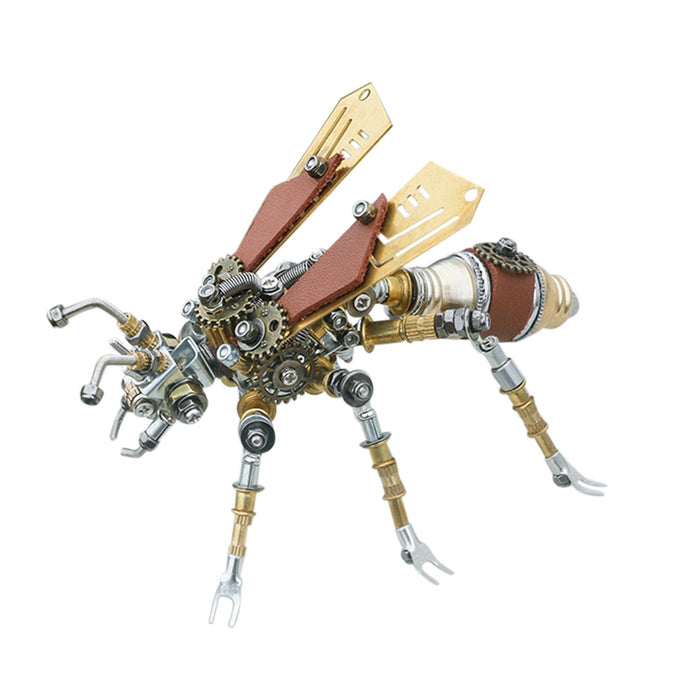 290Pcs Metal Mosquito Insect 3D DIY Mechanical Assembly Model Kit