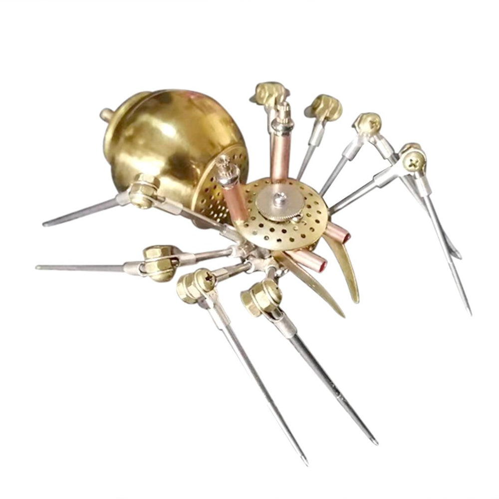 3D Metal Mechanical Golden Spider Assembly Model Kit
