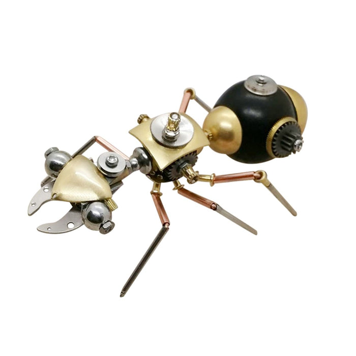 3D Metal Mini Mechanical Insect Spider Scorpion Spider Team Handicrafts Model