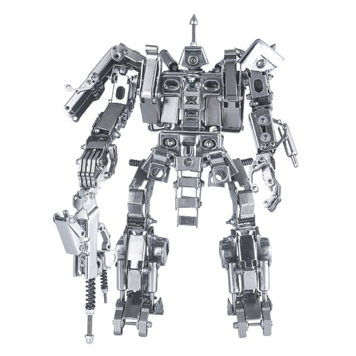 547Pcs 25cm 3D Metal Assembly Combat Mecha Figure Model Building Kit