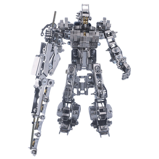 638Pcs Blade Master Metal War Assault Mecha Assembly Model Kit Phone Holder 2in1