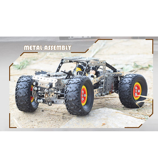 694Pcs 3D Metal Off Road Monster Truck Puzzle Model Kit Assembly Toy for Adults