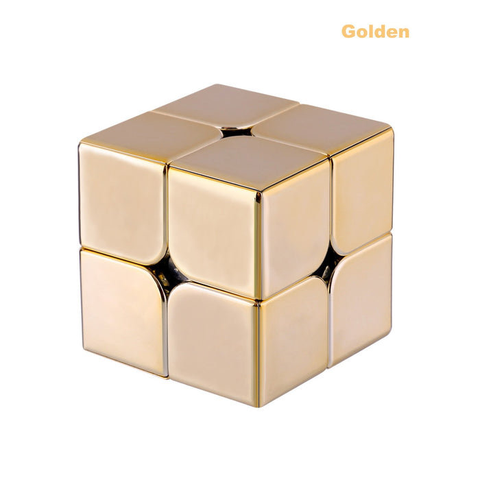 6pcs MoYu Meilong MFJS Electroplated 2x2 Pocket Cube
