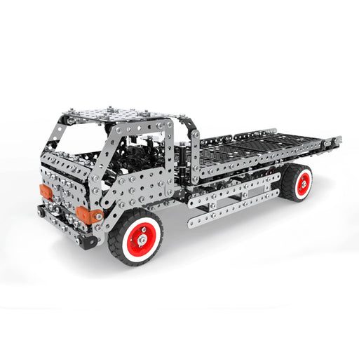935Pcs 3D Assembly Metal Engineering Truck Construction Puzzle Model Kit