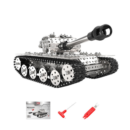 939Pcs DIY Tank Metal Model Kits Handmade Assembly 3D Metal Puzzle Toys