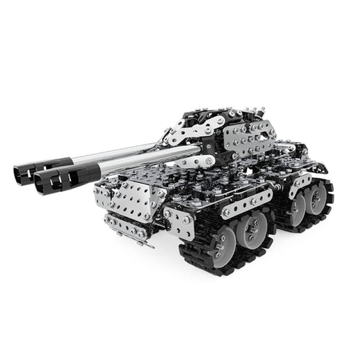 969Pcs Assembly DIY Stainless Steel 3D Puzzle  Tank Model Kit