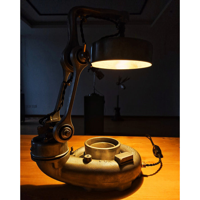 Steampunk Industrial Retro Style Table Desk Lamp