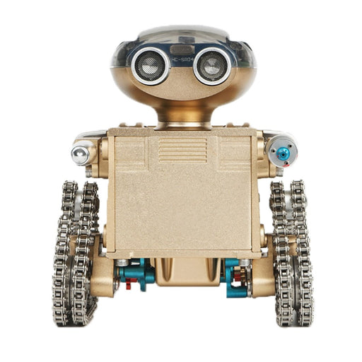 Assembling Metal App Smart Controlled Tank Robot Model Toy