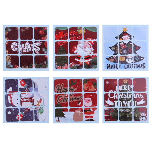 Christmas Pattern Sticker for Moyu RS3M 2020 3x3 Cube
