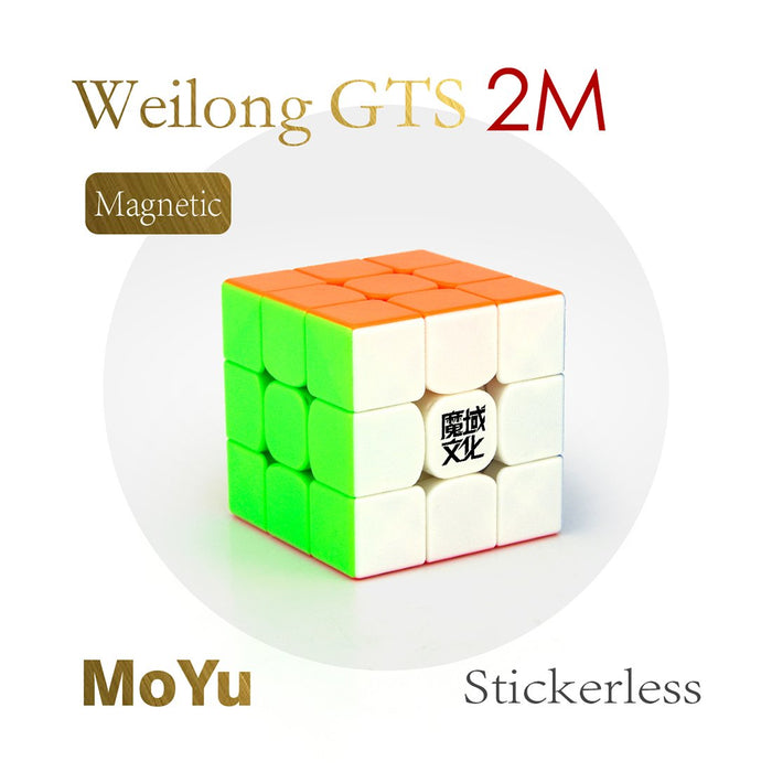 YJ8254 MoYu WeiLong GTS2 M 3x3x3 Magic Cube