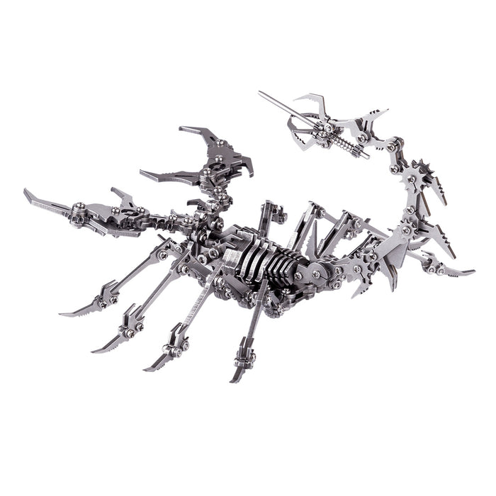 Detachable Scorpion King 3D Stainless Steel DIY Assembly Model Puzzle Jigsaw