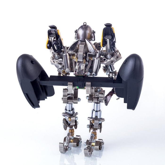 DIY 3D Assembly Metal Mechanical Soldier Robot Puzzle Model