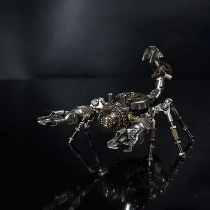 DIY AssemblY Metal Scorpion Puzzle Model Home Decor Gift