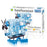 DIY Inline 4-cylinder L4 Car Engine Assembly Model Kit STEM Educational Toy