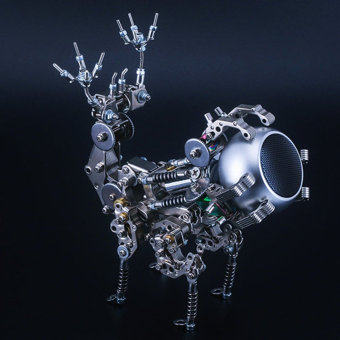 DIY Metal Assembly Speaker 3D Phantom Deer Model Puzzle Kits