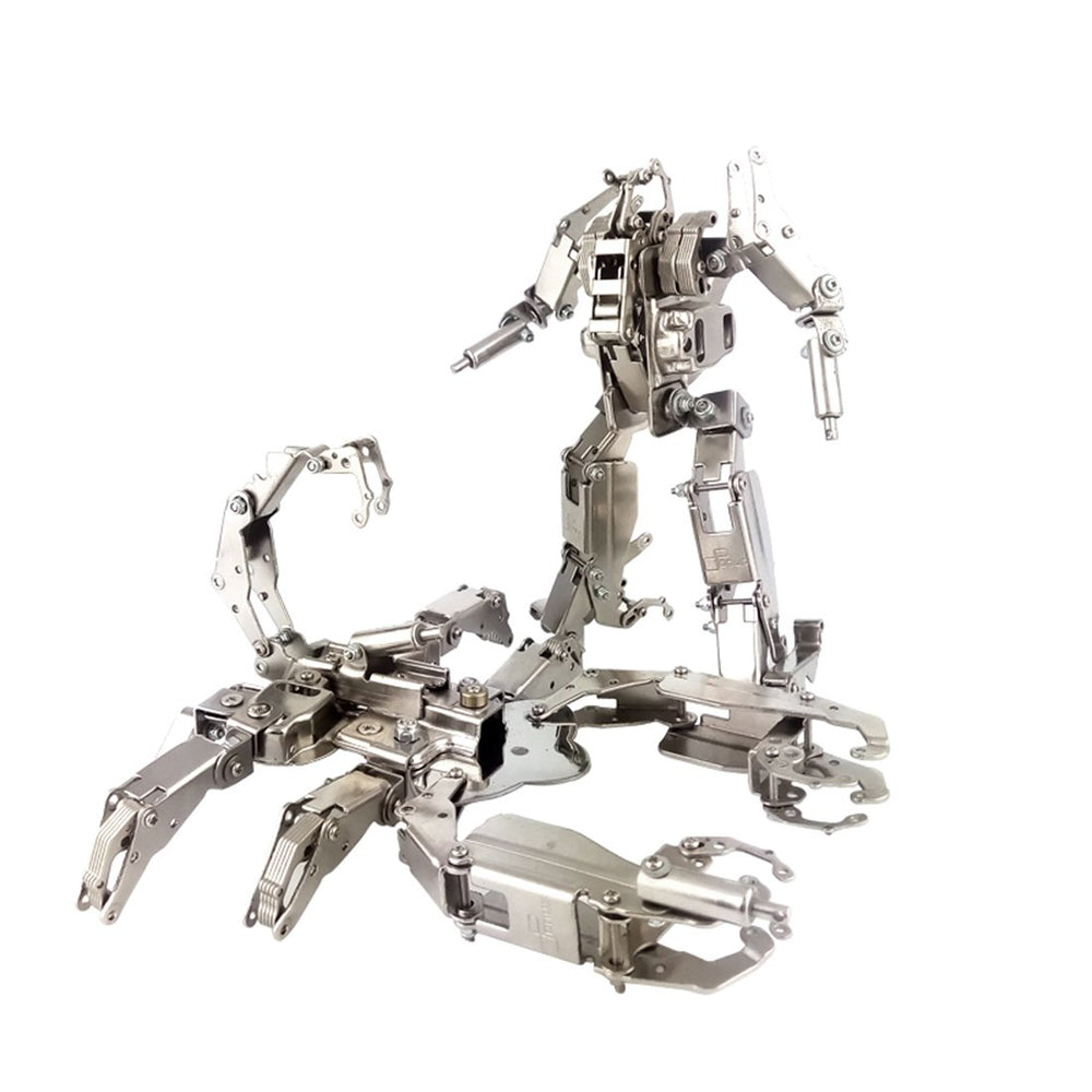 2in1 DIY Metal Assembly 3D Scorpion Deformation Robot Mecha Puzzle Kits