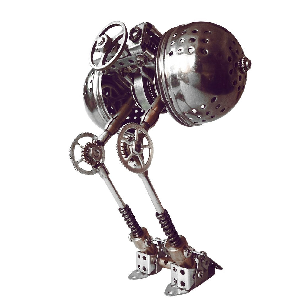 DIY Metal Assembly Mechanical Ball Robot Puzzle Model Kit