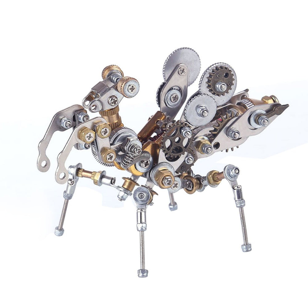 DIY Metal Mechanical Prayer Mantis  Insect Puzzle 3D Assembly Model Kit