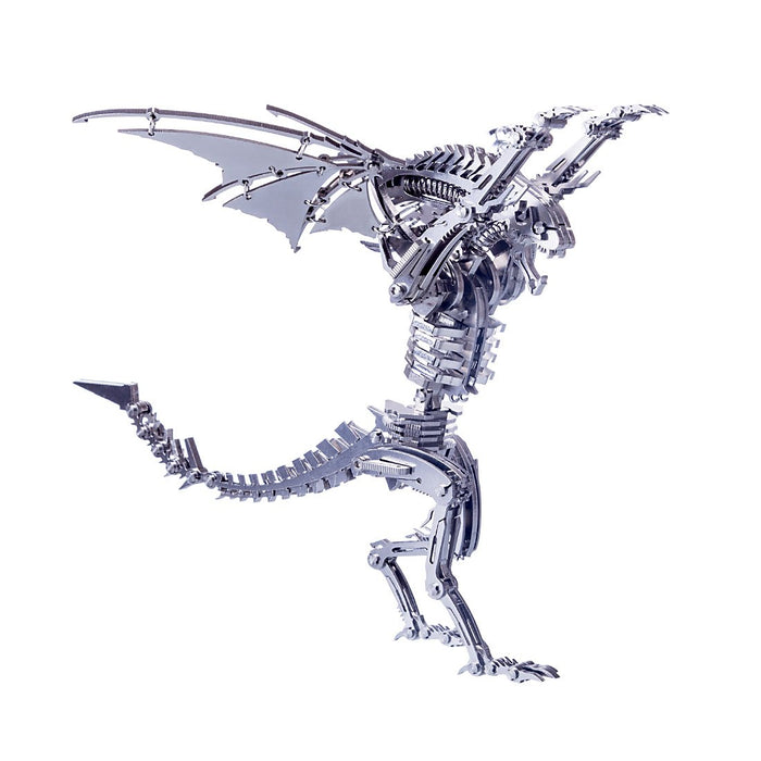 DIY Stainless Steel Metal Winged Beast Puzzle  Assembly Model Kit
