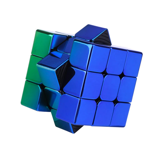 Electroplated Meilong 3C 3X3 Cube Gradient blue