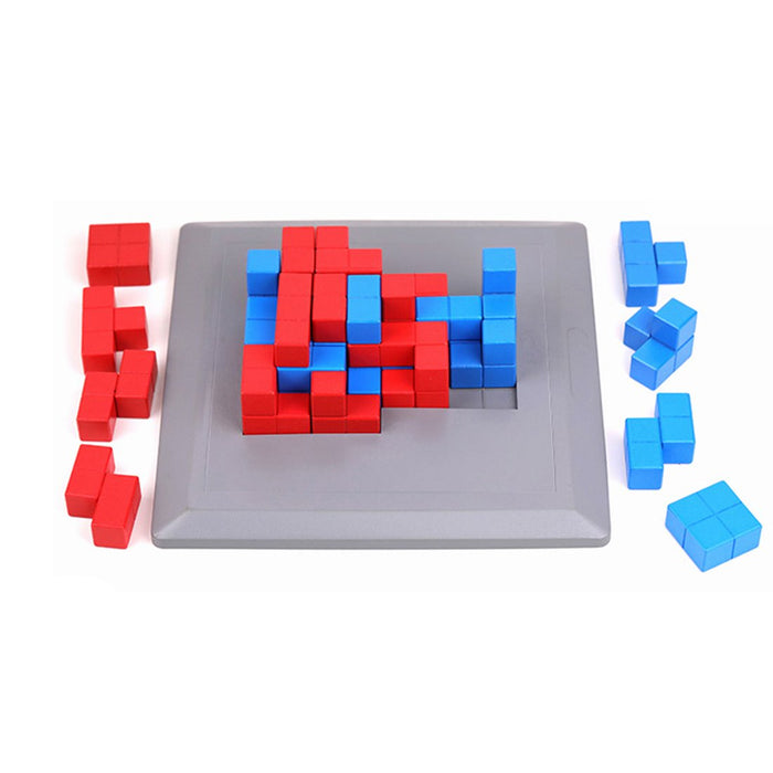 Lock High Ground Highly Difficult Cube Educational Bricks Toy