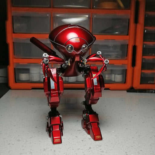Metal Red Armored Beetle Soldier 3D Model Kits