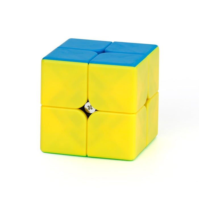 MFJS 2x2 Pudding Teaching Puzzle Series Magic Budget Cube for Kids - Stickerless