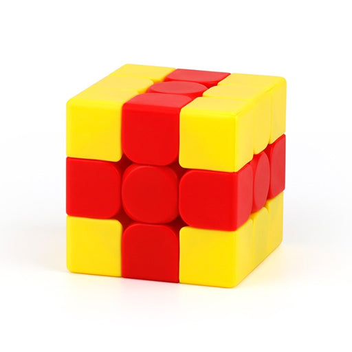MFJS 3x3 Chips Bump Teaching Puzzle Series Magic Cube - Stickerless