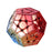 Electroplated Megaminx Red Golden Blue Gradient