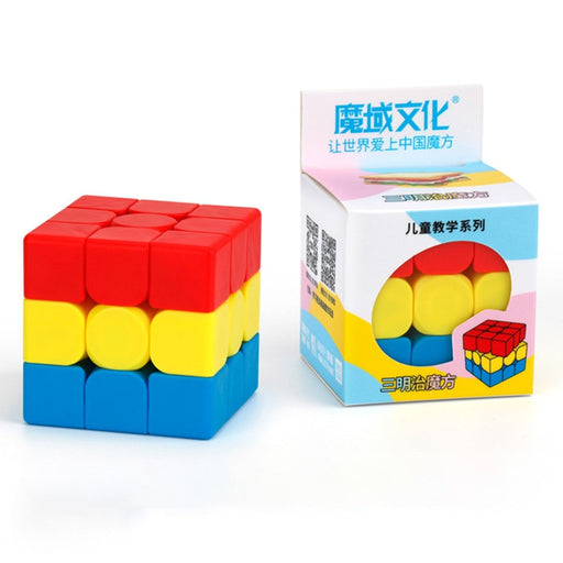 MOYU MFJS Sandwich Magic Budget Cube 3x3x3 Puzzle for Kids- Stickerless