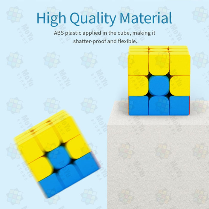MOYU 6pcs  MFJS Budget Cube 3X3X3 Magic Rubik's Cube Kit  - Stickerless