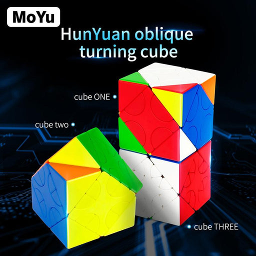 Moyu Hunyuan Skewb Cube 60mm MF8809 Stickerless