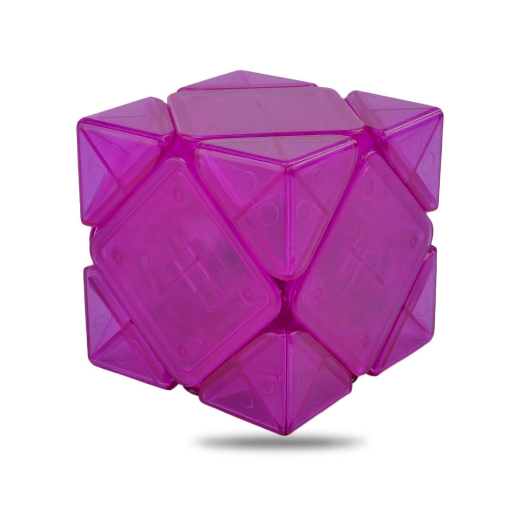 MoYu Magnetic Oblique Skewb Speed Cube 55mm Limited Purple Version YJ8244